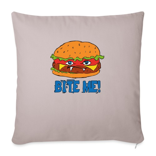 Bite me! - Copricuscino per divano, 45 x 45 cm