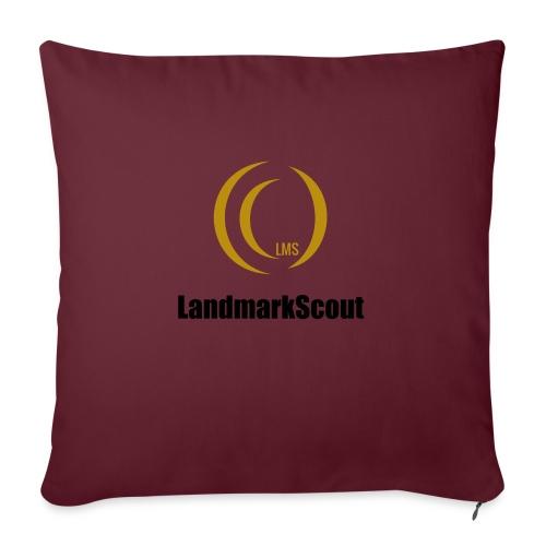 Tshirt Yellow Front logo 2013 png - Sofa pillowcase 17,3'' x 17,3'' (45 x 45 cm)