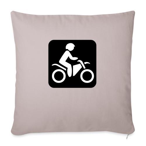 motorcycle - Sohvatyynyn päällinen 45 x 45 cm