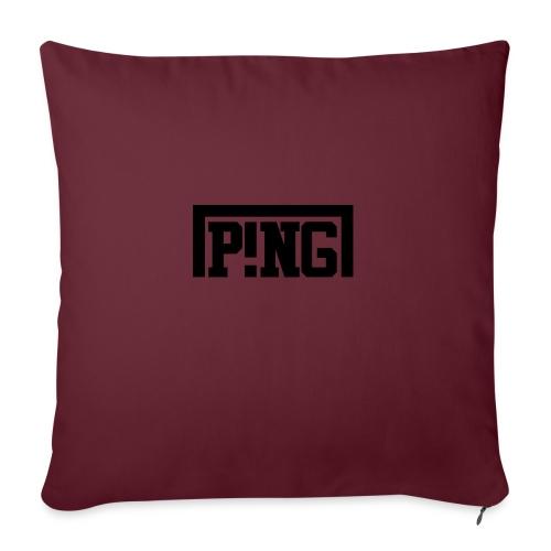 ping1 - Sierkussenhoes, 45 x 45 cm
