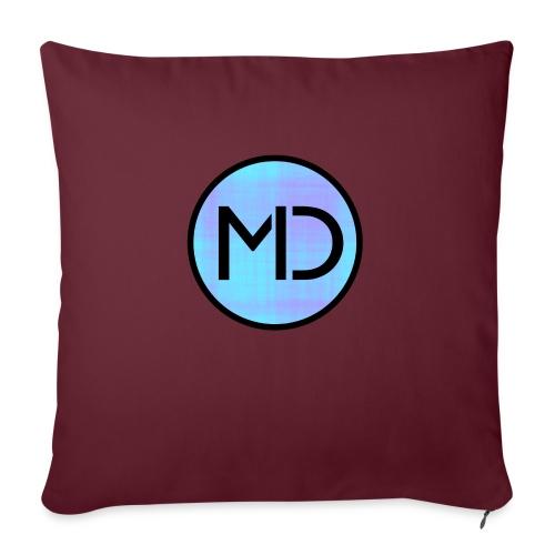 MD Blue Fibre Trans - Sofa pillowcase 17,3'' x 17,3'' (45 x 45 cm)