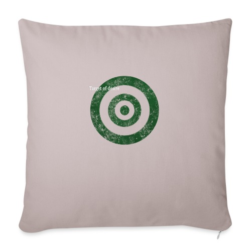target of desire - green - Sofakissenbezug 44 x 44 cm
