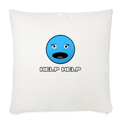 Shirt Help Help - Sierkussenhoes, 45 x 45 cm