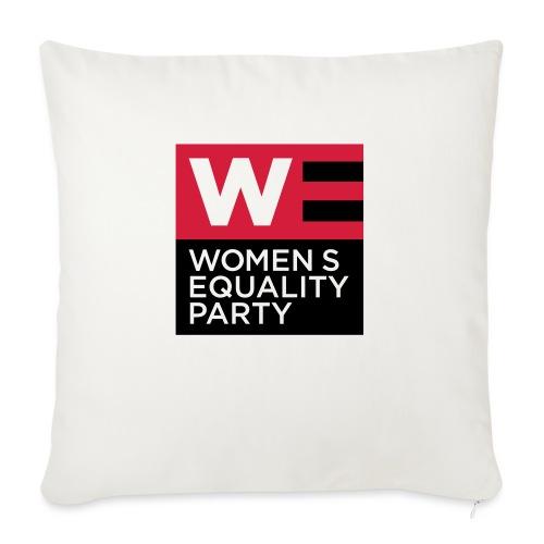 WE_LOGO_RED_CMYK - Sofa pillowcase 17,3'' x 17,3'' (45 x 45 cm)
