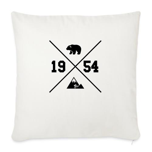 Karhuvuori -baseballhuppari - Sohvatyynyn päällinen 45 x 45 cm