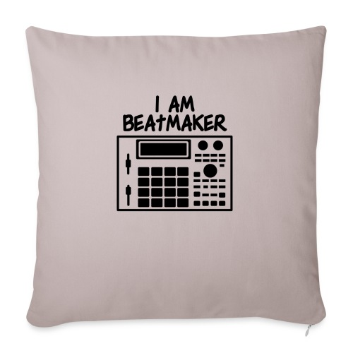 i am beatmaker - Housse de coussin décorative 45x 45cm