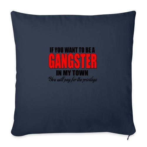 ville gangster - Housse de coussin décorative 45x 45cm