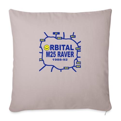 Orbital M25 Acid Hosue Raver - Sofa pillowcase 17,3'' x 17,3'' (45 x 45 cm)