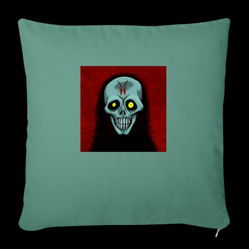 Ghost skull - Sofa pillowcase 17,3'' x 17,3'' (45 x 45 cm)