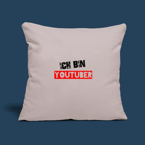 Ich bin Youtuber! - Sofakissenbezug 44 x 44 cm