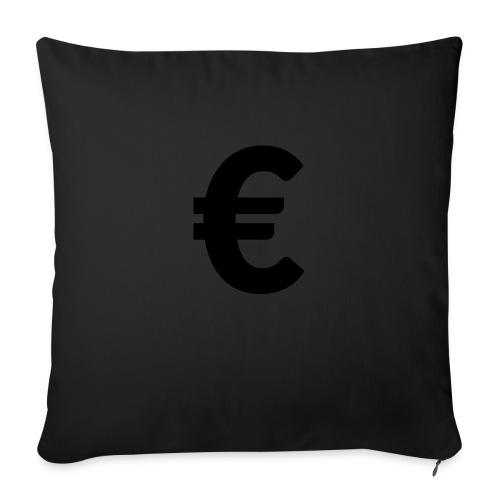 EuroBlack - Housse de coussin décorative 45x 45cm