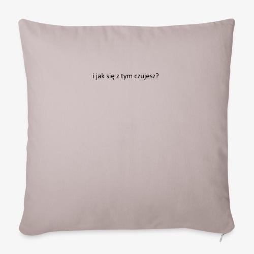 #psycholog - Poszewka na poduszkę 45 x 45 cm