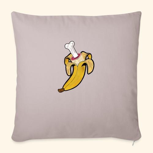 Die zwei Gesichter der Banane - Sofakissenbezug 44 x 44 cm