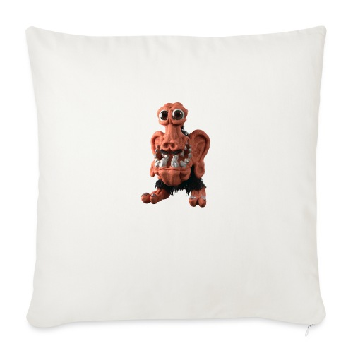 Very positive monster - Sofa pillowcase 17,3'' x 17,3'' (45 x 45 cm)