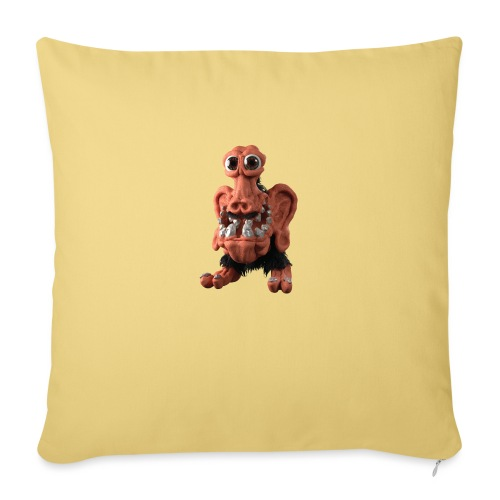 Very positive monster - Sofa pillowcase 17,3'' x 17,3'' (45 x 45 cm)