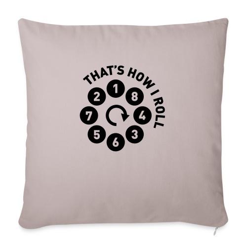 Rolling the V8 way - Autonaut.com - Sofa pillowcase 17,3'' x 17,3'' (45 x 45 cm)