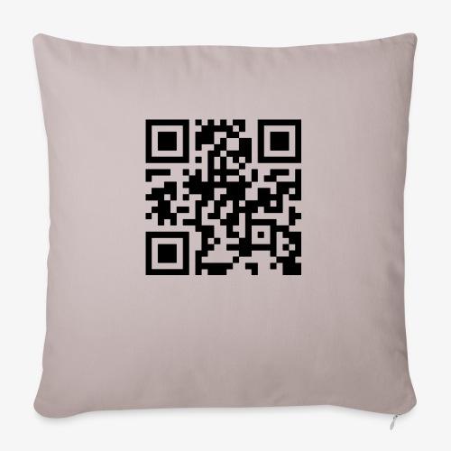 QR Code - Sofa pillowcase 17,3'' x 17,3'' (45 x 45 cm)
