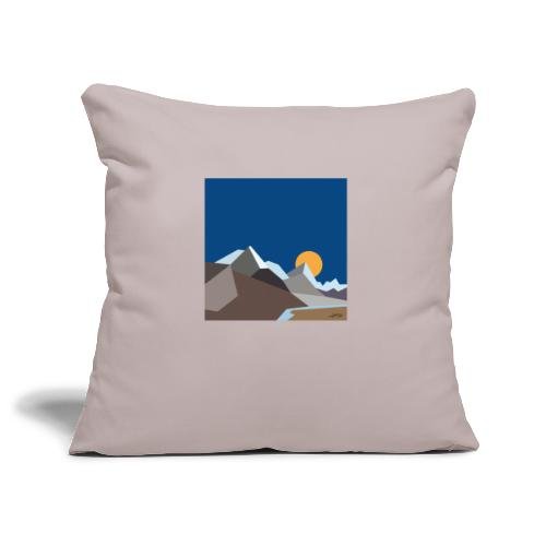 Himalayas - Sofa pillowcase 17,3'' x 17,3'' (45 x 45 cm)