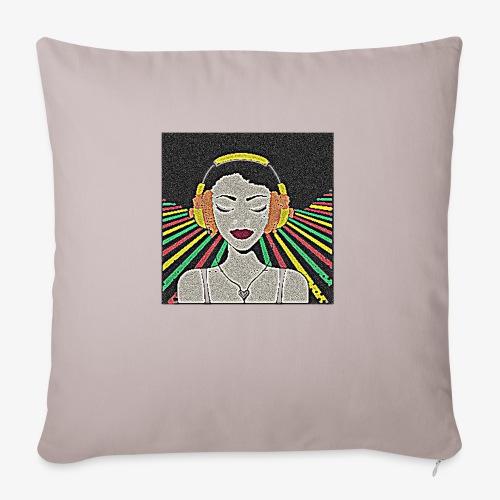 Love miusic - Poszewka na poduszkę 45 x 45 cm