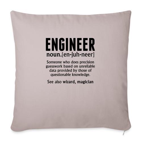 ENGINEER - Sofa pillowcase 17,3'' x 17,3'' (45 x 45 cm)