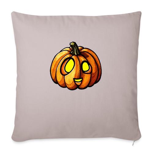 Pumpkin Halloween watercolor scribblesirii - Sofakissenbezug 44 x 44 cm