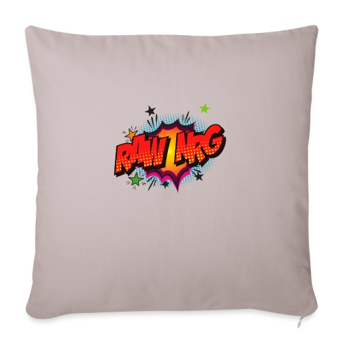 Raw Nrg comic3 - Sofa pillowcase 17,3'' x 17,3'' (45 x 45 cm)