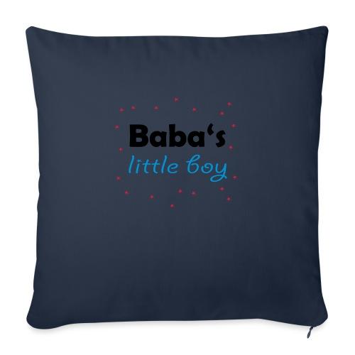 Baba's litte boy Babybody - Sofakissenbezug 44 x 44 cm