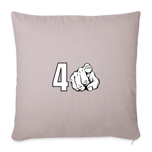 4 You - Funda de cojín, 45 x 45 cm