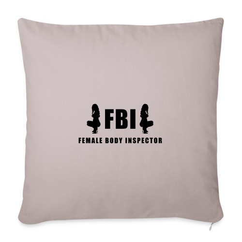 FBI - Sofakissenbezug 44 x 44 cm