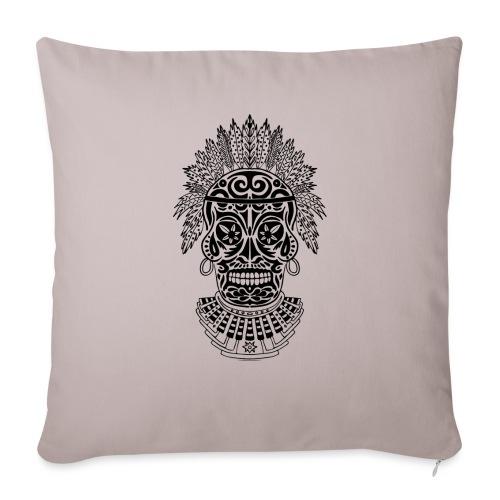 Black shaman skull - Copricuscino per divano, 45 x 45 cm