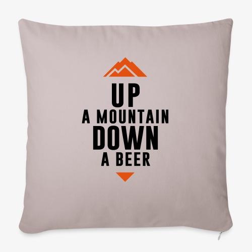 UP Mountain Down Beer - Housse de coussin décorative 45x 45cm