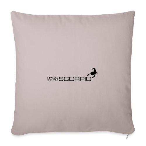 scorpio logo - Sierkussenhoes, 45 x 45 cm