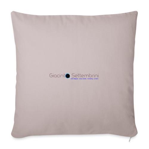 Giacinto Settembrini Web & Social - Copricuscino per divano, 45 x 45 cm