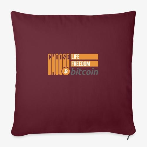 Bitcoin - Housse de coussin décorative 45x 45cm