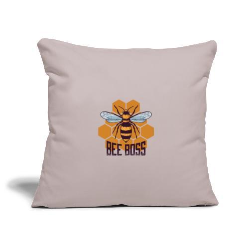 Bee Boss Biene Bienenkönigin Waben - Sofakissenbezug 44 x 44 cm