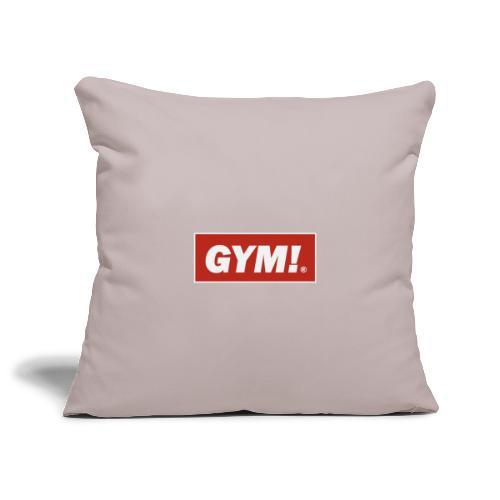 Gym - Sofa pillowcase 17,3'' x 17,3'' (45 x 45 cm)