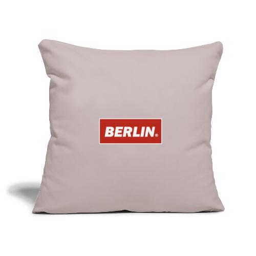 Berlin - Sofa pillowcase 17,3'' x 17,3'' (45 x 45 cm)