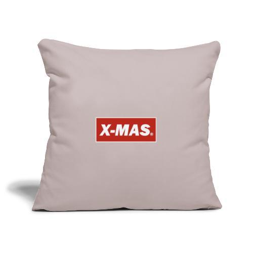 X Mas - Sofa pillowcase 17,3'' x 17,3'' (45 x 45 cm)
