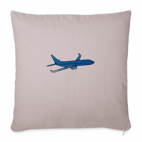 L'avion ! - Housse de coussin décorative 45x 45cm