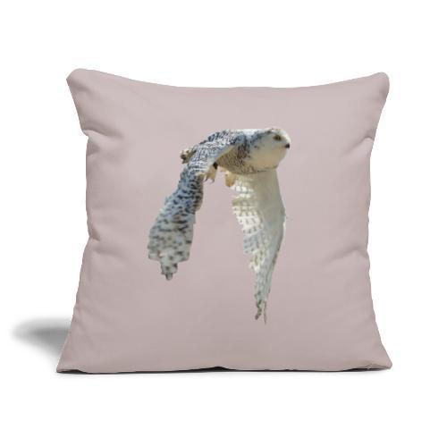 Snowy owl snow owl flying hedwig flight - Sofa pillowcase 17,3'' x 17,3'' (45 x 45 cm)