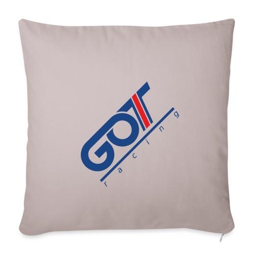 GOT Racing Blue - Soffkuddsöverdrag, 45 x 45 cm