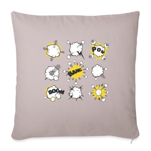 Astonishing explosion - Sofa pillowcase 17,3'' x 17,3'' (45 x 45 cm)