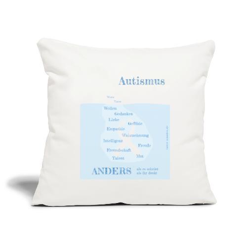 Autismus - anders als man denkt - Sofakissenbezug 44 x 44 cm