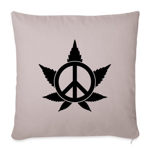 Peace - Sofakissenbezug 44 x 44 cm