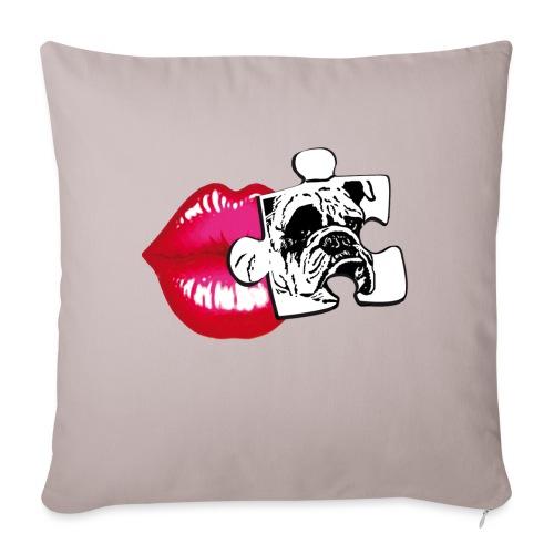 KISS - BULLDOG - Copricuscino per divano, 45 x 45 cm