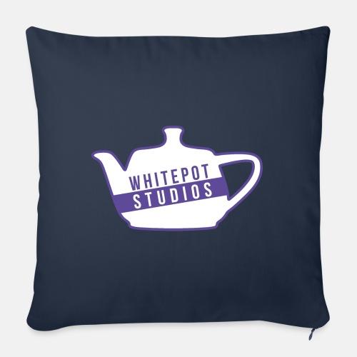 Whitepot Studios Logo - Sofa pillowcase 17,3'' x 17,3'' (45 x 45 cm)