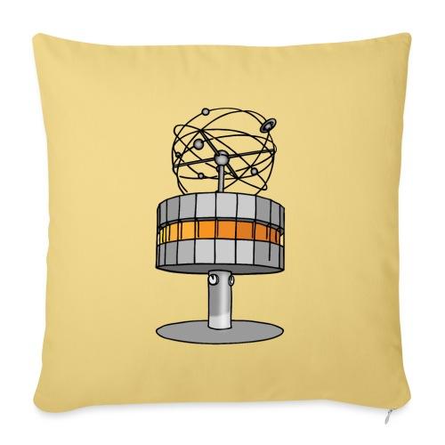L'orologio del tempo del mondo BERLIN c - Copricuscino per divano, 45 x 45 cm
