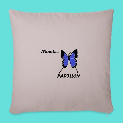 Minute... Papillon - Housse de coussin décorative 45x 45cm