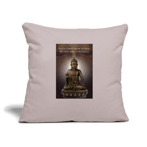 Peace from Within - Sofa pillowcase 17,3'' x 17,3'' (45 x 45 cm)