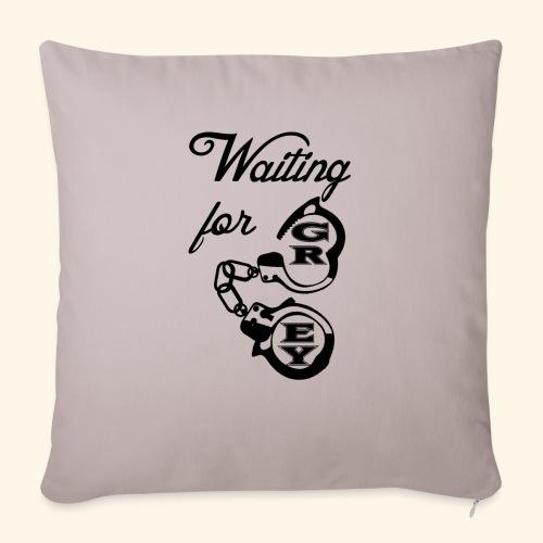 waitingG - Sofa pillowcase 17,3'' x 17,3'' (45 x 45 cm)